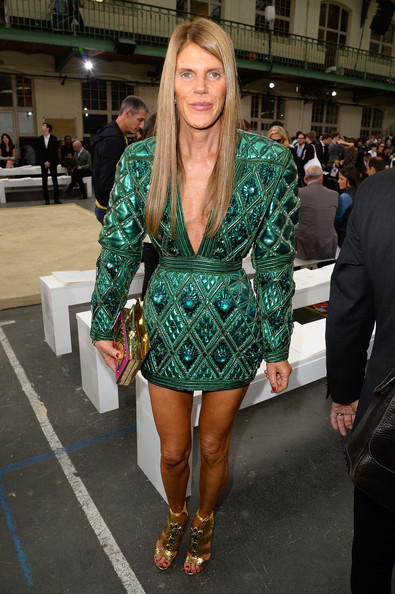 Anna dello Russo - Chloe : Front Row - Paris Fashion Week Womenswear  Spring/Summer 2014