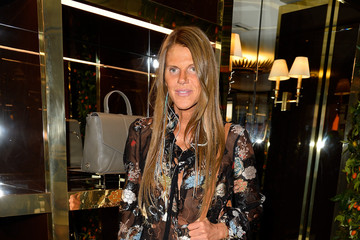 Anna dello Russo Tory Burch Paris Flagship Opening