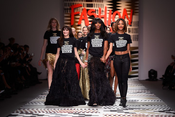 Annabelle Neilson Fashion for Relief Runway Show