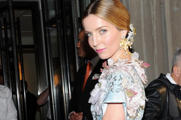 Annabelle Wallis Met Gala 2015 Departures From The Mark Hotel - NYC