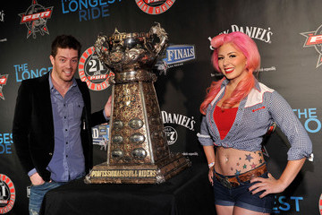 Annalee Belle Professional Bull Riders 21st World Finals - Day 3