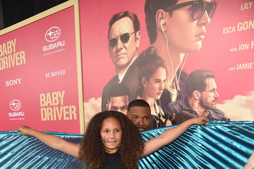 Annalise Bishop Premiere of Sony Pictures' 'Baby Driver' - Red Carpet