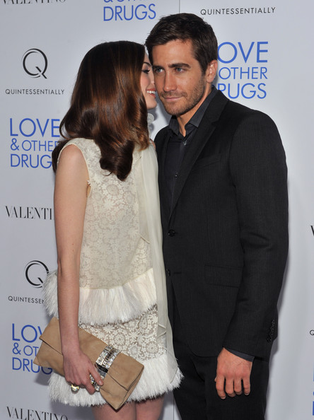 "Jake Gyllenhaal and Anne Hathaway - ""Love & Other Drugs"" New York Screening"