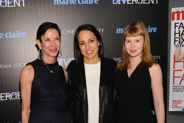 Anne Fulenwide 'Divergent' Screening in NYC