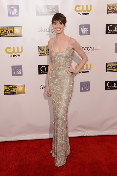 Anne Hathaway - 18th Annual Critics' Choice Movie Awards - Arrivals