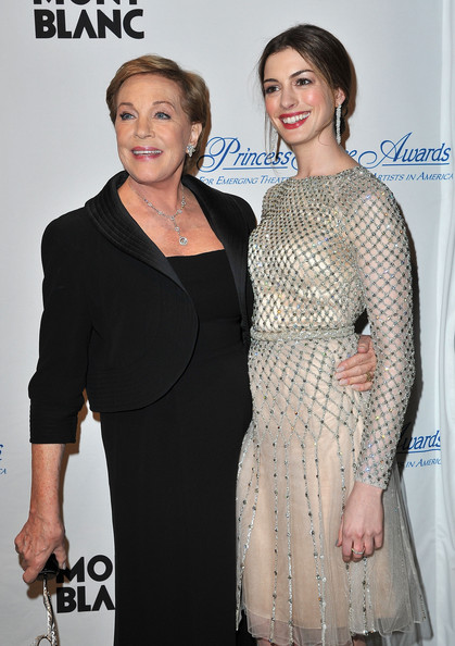MONTBLANC Launches Collection Julie Andrews And Anne Hathaway