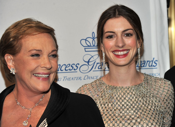 Princess Grace Awards Gala - Julie Andrews And Anne Hathaway