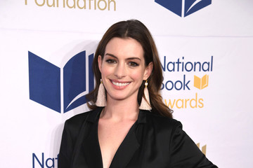 Anne Hathaway 68th National Book Awards - Arrivals
