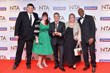 Anne Hegerty National Television Awards - Winners Room