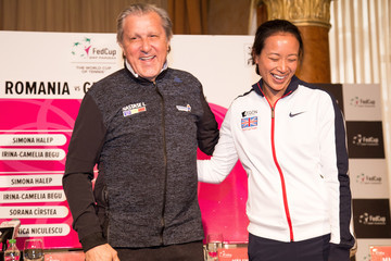 Anne Keothavong Romania v Great Britain - Fed Cup: World Group II Play Off: Previews