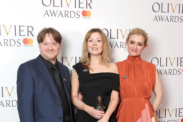 Anne-Marie Duff The Olivier Awards With Mastercard - Press Room
