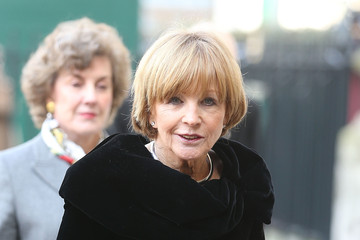 Anne Robinson Memorial Service Held for David Frost
