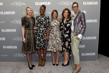 Anne Sweeney Glamour Women Of The Year 2016 LIVE Summit - Backstage