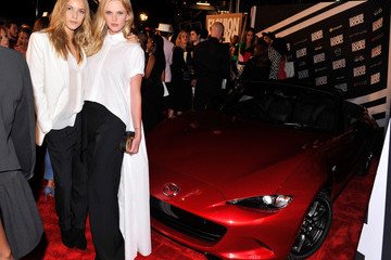 Anne V LG And Mazda At Fashion Rocks 2014 - Arrivals