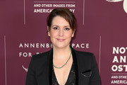 """Melanie Lynskey attends the Annenberg Space for Photography's """"Not An Ostrich"""" Exhibit Opening Party at the Annenberg Space For Photography on April 19, 2018 in Century City, California."""