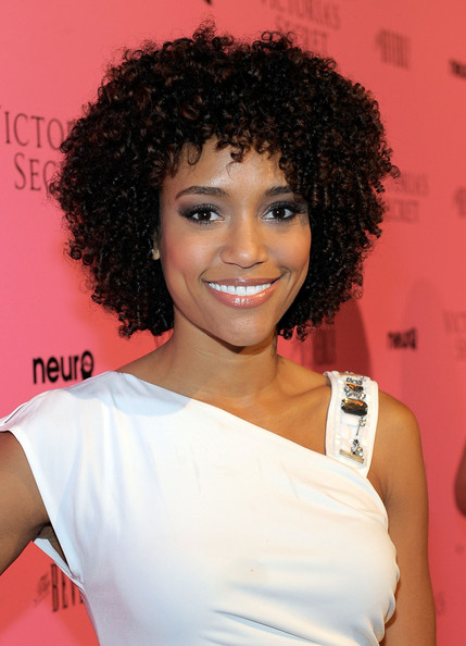 Annie Ilonzeh Actress Annie Ilonzeh attends The Reveal of the What Is Sexy? List celebrated by Victoria's Secret Bombshells at The Beverly on May 12, 2011 in Los Angeles, California.