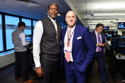 Larry Johnson  attends the Annual Charity Day hosted by Cantor Fitzgerald, BGC and GFI at Cantor Fitzgerald on September 11, 2018 in New York City.