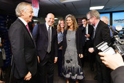 Tony Blair, Howard Lutnick, Edie Lutnick and Steve Buscemi attend the Annual Charity Day hosted by Cantor Fitzgerald, BGC and GFI at Cantor Fitzgerald on September 11, 2018 in New York City.