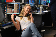 Candice Swanepoel attends the Annual Charity Day Hosted By Cantor Fitzgerald, BGC and GFI on September 11, 2019 in New York City.