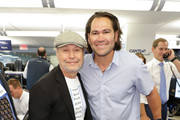 Billy Crystal and Johnny Damon attend the Annual Charity Day Hosted By Cantor Fitzgerald, BGC and GFI on September 11, 2019 in New York City.