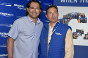 Johnny Damon (L) attends the Annual Charity Day Hosted By Cantor Fitzgerald, BGC and GFI on September 11, 2019 in New York City.