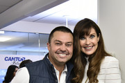 Nick Swisher and Carol Alt attends the Annual Charity Day Hosted By Cantor Fitzgerald, BGC and GFI on September 11, 2019 in New York City.