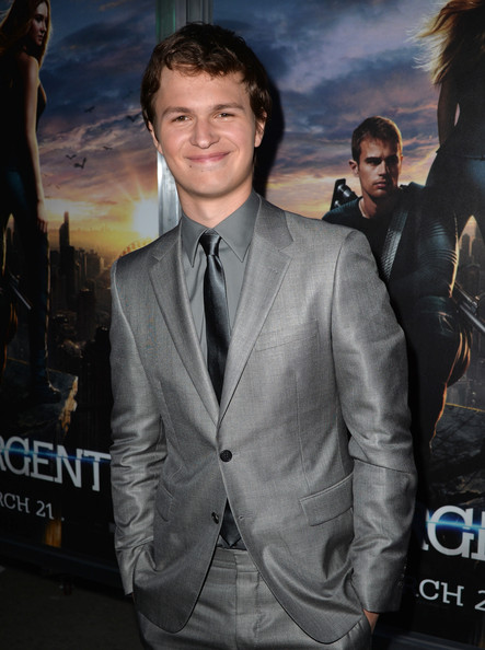 "Ansel Elgort - Premiere Of Summit Entertainment's ""Divergent"" - Red Carpet"
