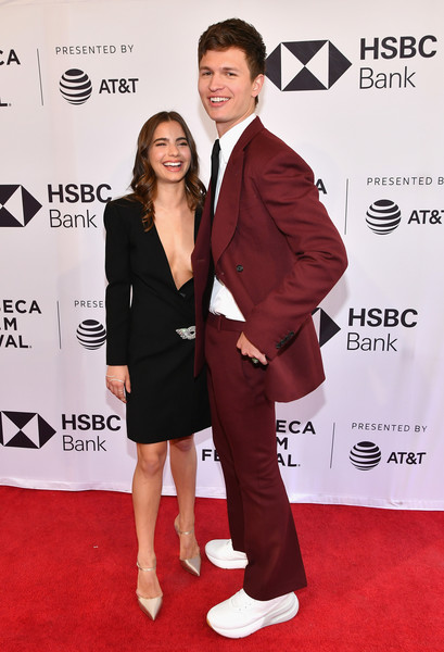 'Jonathan' - 2018 Tribeca Film Festival [jonathan,ansel elgort,violetta komyshan,red carpet,carpet,suit,formal wear,premiere,flooring,tuxedo,event,tribeca film festival,screening,new york city,sva theatre]