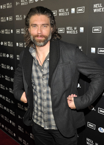 Anson mount pictures amc s quot hell on wheels quot premiere and after party