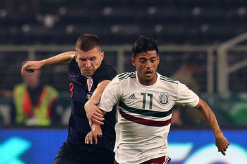 Ante Rebic Mexico vs. Croatia