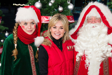 Anthea Turner Hyde Park Winter Wonderland - VIP Preview Night
