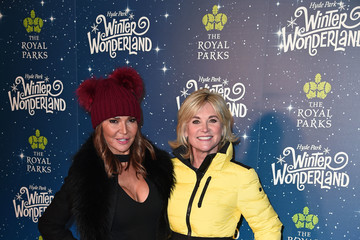 Anthea Turner Winter Wonderland VIP Launch - Red Carpet Arrivals