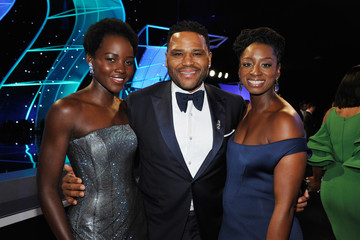 Anthony Anderson Alvina Stewart 24th Annual Screen Actors Guild Awards - Cocktail Hour