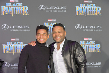 Anthony Anderson Nathan Anderson Marvel Studios' 'Black Panther' Film Premiere