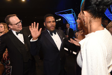 Anthony Anderson Tracee Ellis Ross 24th Annual Screen Actors Guild Awards - Cocktail Hour