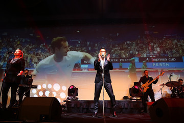 Anthony Callea Hopman Cup New Year's Eve Gala