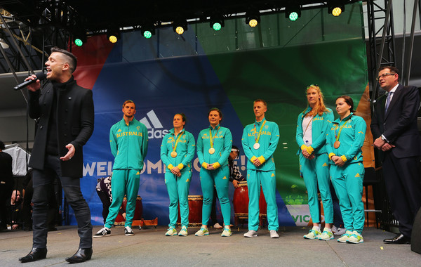 Australian Olympic Team Melbourne Welcome Home Celebration