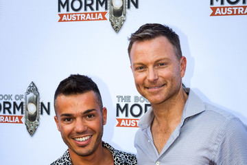 Anthony Callea 'The Book of Mormon' Opening Night - Arrivals