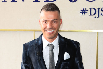 Anthony Callea Celebrities Attend Caulfield Cup Day