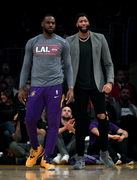 Anthony Davis Lebron James Anthony Davis And Lebron James