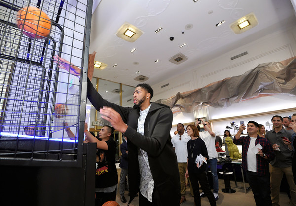 Saks Fifth Avenue Beverly Hills Celebrates Launch of Saks Fifth Avenue x  Anthony Davis 2eb6e9dcbd4f