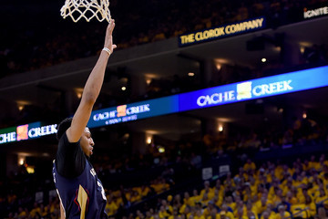 Anthony Davis Stephen Curry New Orleans Pelicans v Golden State Warriors - Game Two