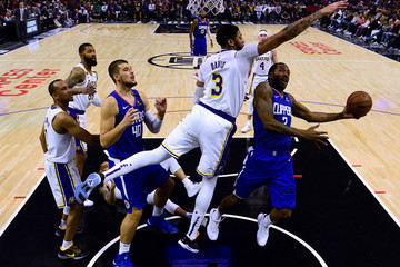 Anthony Davis Los Angeles Lakers v Los Angeles Clippers