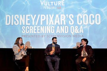 Anthony Gonzalez Vulture Festival LA Presented by AT&T - Pixar's 'Coco' Screening and Interview Presented by Screenvision Media