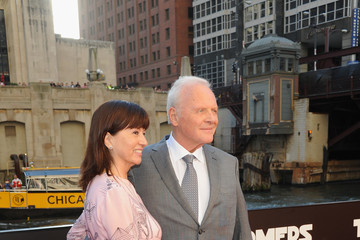 Anthony Hopkins Stella Arroyave 'Transformers: The Last Knight' US Premiere