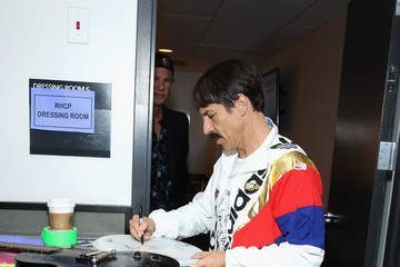 Anthony Kiedis 61st Annual Grammy Awards - Grammy Charities Signings - Day 4