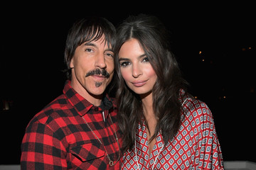 Anthony Kiedis The Kooples and Emily Ratajkowski LA Cocktail Event