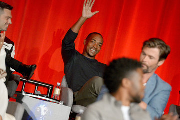 """Anthony Mackie """"Avengers: Infinity War"""" Global Press Conference"""