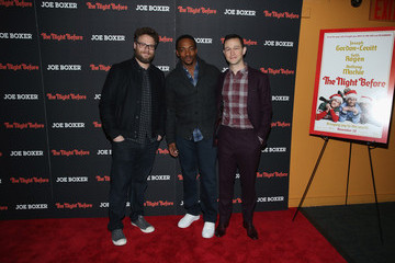 Anthony Mackie 'The Night Before' New York Premiere