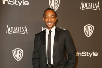 Anthony Mackie InStyle And Warner Bros. Golden Globes Party — Part 2